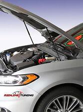 2013+ Ford Fusion Hood LIFT PLUS Bolt-in Gas Strut Damper Shocks Prop Spring