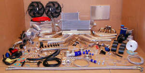 85 98 Ford Escort Lx T3 T4 Turbocharger Kit Turbo Kit Intercooler