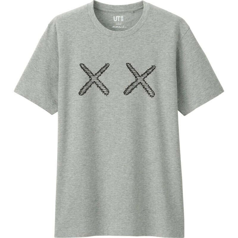Kenzo Poloshirt TIGER Baumwolle Herren Grau 4BA5PO001 97