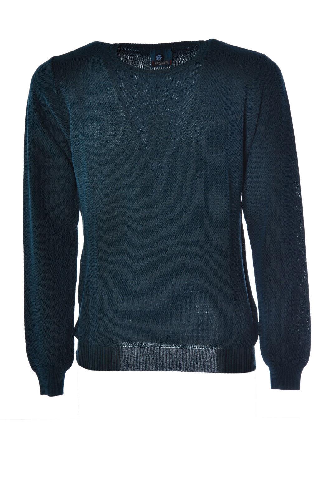 Heritage  -  Sweaters - Male - 50 - Grün - 1605501C162553