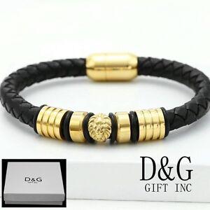 Image Is Loading Dg Men 039 S 8 034 Gold Stainless