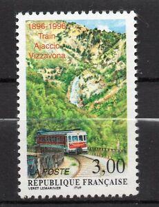 France-1996-Yvert-3017-Train-Ajaccio-Vizzavona-Neuf-MNH