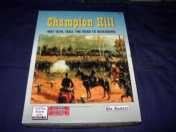 The Gamers - Champion Hill - maj 16 e, 1863  The Road to Vicksburg (UNPUNCHED)