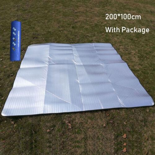 Waterproof Aluminum Foil EVA Camping Mat Folding Sleeping Mats Light 4 Size UK~