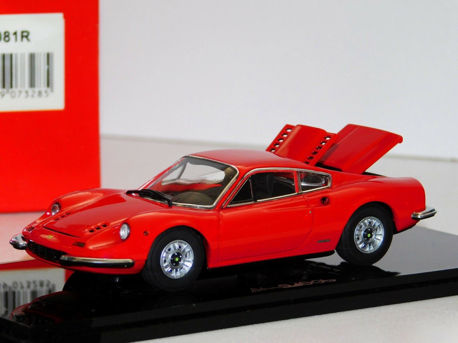 Ferrari Dinosaurio 246GT rosso apertura Kyosho 05081R 1 43