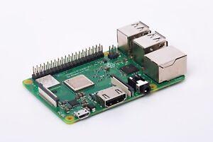 Raspberry Pi 3 Model B 64bit Quad Core 1gb RAM WiFi AC Gigabit Ethernet Compute