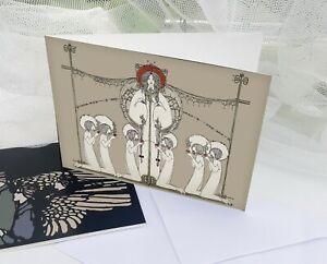 Glasgow Style Jessie M King Arts & Crafts Art Nouveau ...