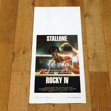 ROCKY IV locandina poster Sylvester Stallone Talia Shire Burt Young Pugile AJ50