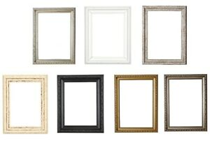 Ornate Shabby Chic Photo Frame Picture Frame,Photo Frames White,Gold A4,A3,A2,A1