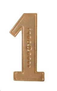 Number 1 Gilded Orange Order Collarette Character