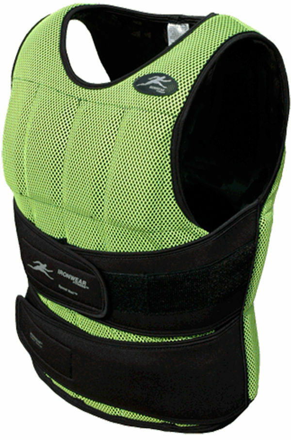 17lbs Ironwear   Long Neon Speed Vest  1 2lb Flex-Metal  MADE IN USA Free Ship  large discount