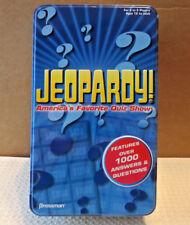Pressman 2006 Tin Shrink Wrap Game For Sale In Travel Jeopardy iTOPulwZkX