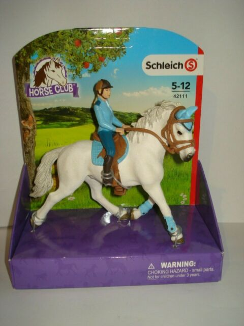 Reiterin Turnierreiterin Figur Freizeitreiterin aus Schleich Set 42111 42190 L