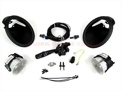 2007-2010 Dodge Caliber Fog Lamp Lights Kit COMPLETE MOPAR GENUINE OEM NEW
