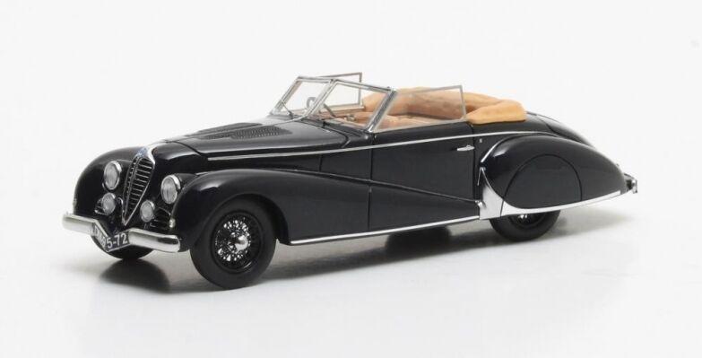 Matrix max40408-011 - delahaye einer höhe von 135 m antem cabriolet schwarz - 1949 1   43