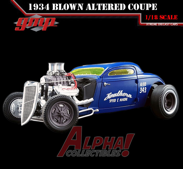 GMP 18829 1:18 1934 BLOW ALTErosso COUPE SOUTHERN SPEED & MARINE