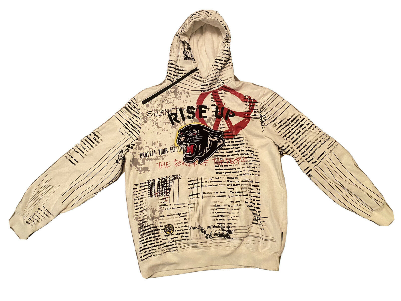 Sean John homme Power to the People graphique Hoodies