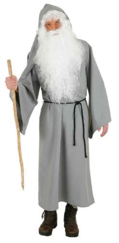 Graues Gewand Sant Nikolaus Kostüm Umhang Knecht Ruprecht Weihnachtsmann Mantel