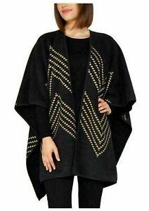 NEW Ike Behar Ladies' Reversible Fashion Wrap, One Size Chic Stylish FREE SHIP