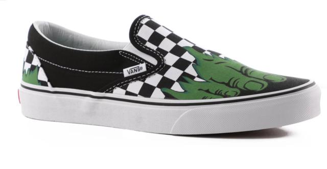 Vans checkered shoes mens