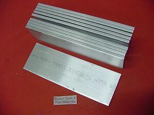 "1//4/"" X 4/"" ALUMINUM 6061 T6511 SOLID FLAT BAR 14/"" long New .25/"" Plate Mill Stock"