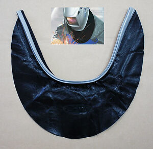 New-HQ-OTOS-Leather-Welding-Helmet-Neck-Protector-Cover-Seal-Hood-Spatter