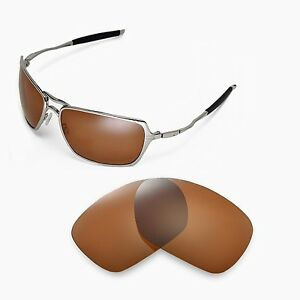 458f596d2d Image is loading New-Walleva-Polarized-Brown-Replacement-Lenses-For-Oakley-