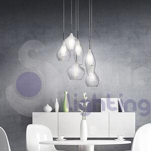 Lampadario lampada sospensione design moderno minimal acciaio ...