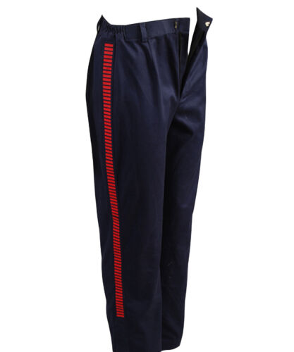 Star Wars IV New Hope Han Solo Cosplay Costume Casual Navy Pants Red Striped
