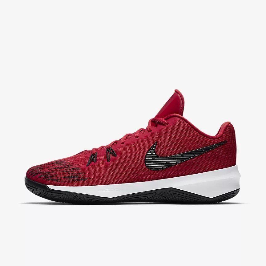 Nike Men Zoom Evidence II EP 2 Gym Basketball shoes Red 908978-600 US7-11 04'
