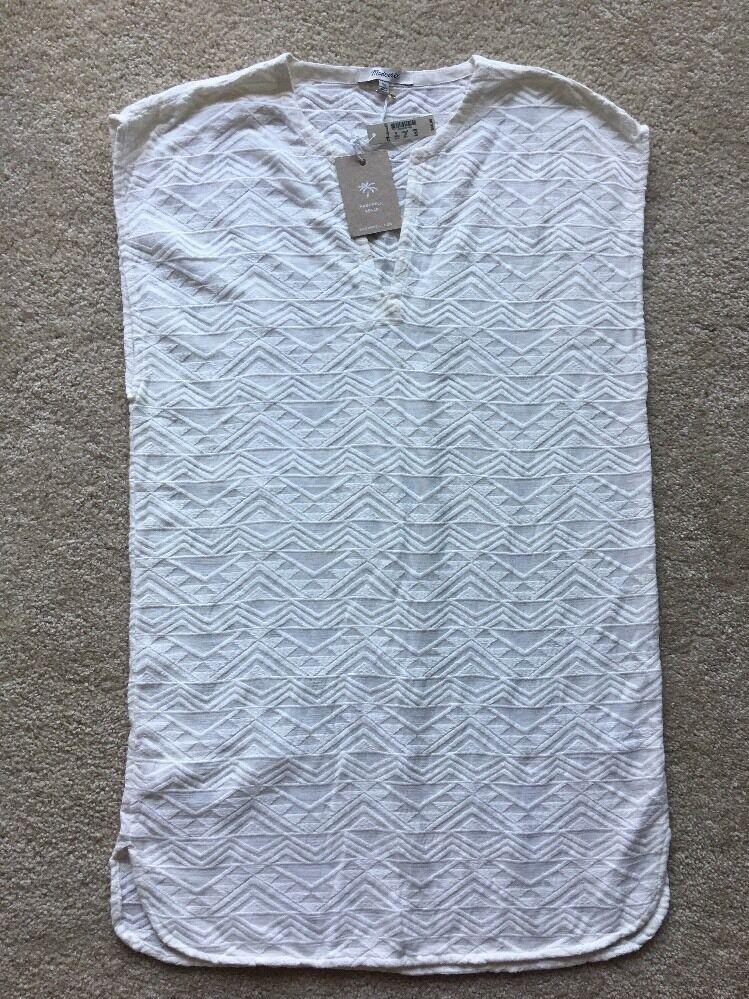 Madewell Beach- cover-up dress in Weiß Größe X-Small