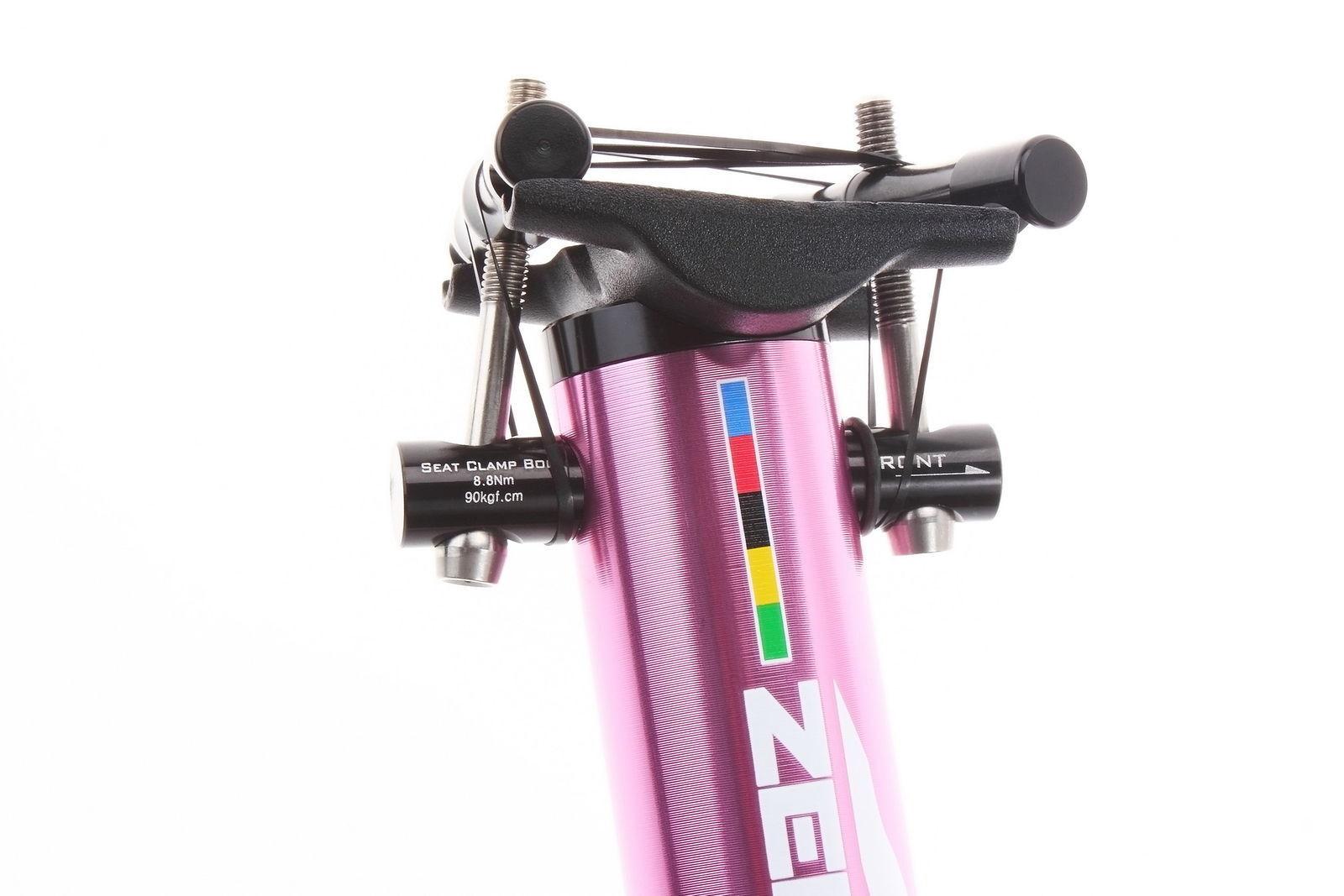 Aerozine XP-Zero Road Mountain MTB Bicycle Bike Seatpost Post 30.9mm 400mm Pink