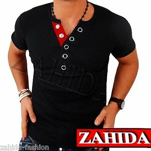 herren t shirt shirt shirts top qualit t polo party clubwear wow m l. Black Bedroom Furniture Sets. Home Design Ideas