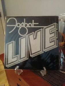 Original-First-Pressing-Foghat-Live-1977-Bearsville-Catalog-BRK-6971-VG-VG