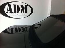 BMW E36 CABRIOLET lunette arrière NOIR A TRAVERS Teinté Vitre de NEUF SUPER