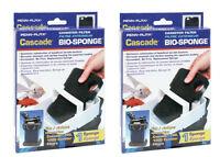(2) CASCADE 700 & CASCADE 1000 AQUARIUM CANISTER BIO SPONGES