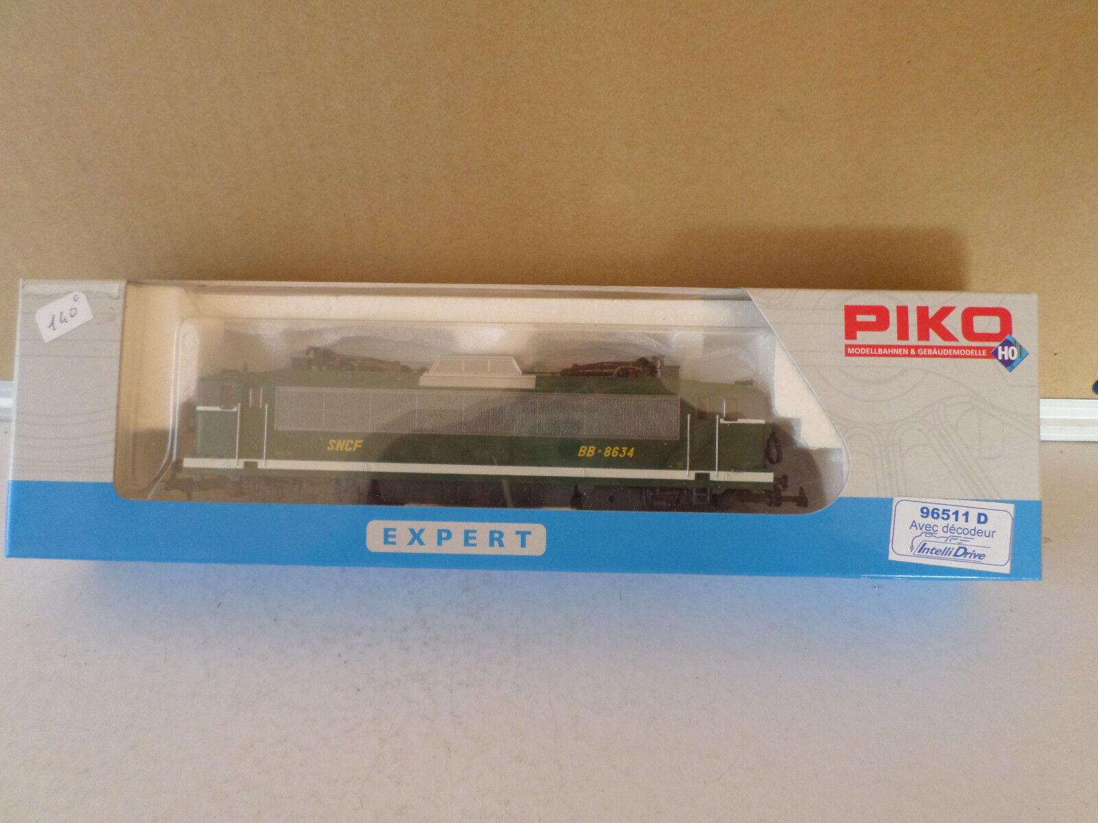 Piko locomotive electrique 96511D avec décodeur  bb8634 greene dépot de toulouse