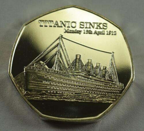 Album//Collectors RMS Titanic Sinks Fine Silver Commemorative Coin Co Exclusive