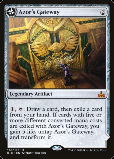 Azor/'s Gateway x 1 RIX MTG NM