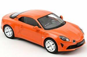 RENAULT Alpine A110 - 2020 - Limited 110 pc`s - Acropolis orange - Norev 1:18