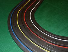 HO & 1/32 Scale Slot Car Track 4 Lane Marking and Finish Line Tape