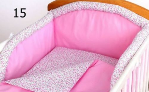 cot bed REMOVABLE COVER sale COT BUMPER padded filled for cot