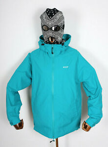 Huf Worldwide Skate Windbreaker Jacket Jacke Standard Shell Tropical Green in S