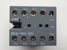 ABB Kleinschütz Leistungs- Motor- Schütz BC6-40-00 Mini contactor relays 24V 12A
