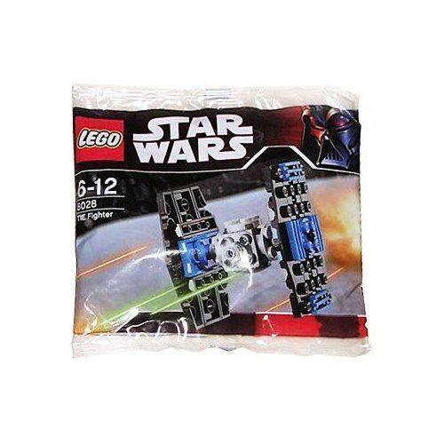 Lego Star Wars Mini Tie Fighter Kit #8028 Brand New Sealed Set Vader On Pack