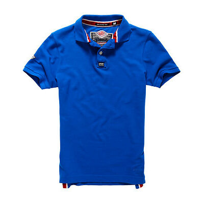 New Mens Superdry Classic Pique Polo Shirt Skipper Blue
