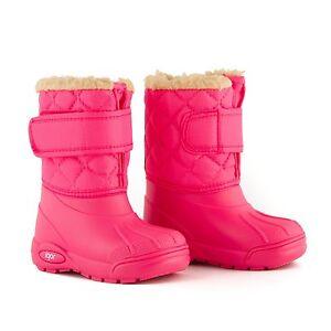 hohe Qualität 2019 am besten bester Preis Details zu Kinder/Baby Gummistiefel Winterstiefel Schneestiefel Lammfell  gefüttert Gr23-36