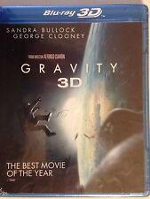 GRAVITY 3D & 2D (Blu ray/DVD/ HD Digital Copy) Sandra Bullock