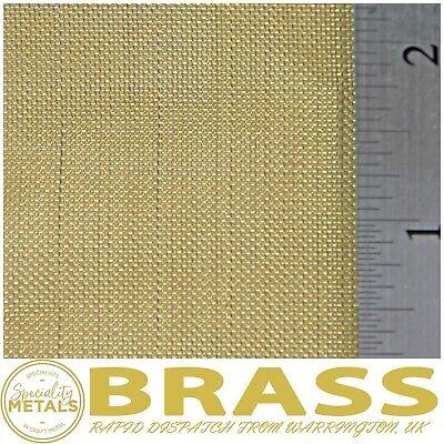 30 LPI x 0.28mm Wire = 0.57mm Hole Coarse Brass Woven Wire Mesh Pure Brass