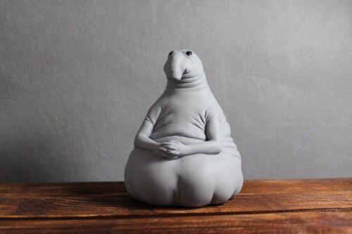 Zhdun Piggy Money Bank Snorp Sculpture Ждун копилка. Homunculus Loxodontus